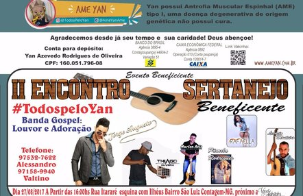 27/08 2º Encontro Sertanejo Beneficente